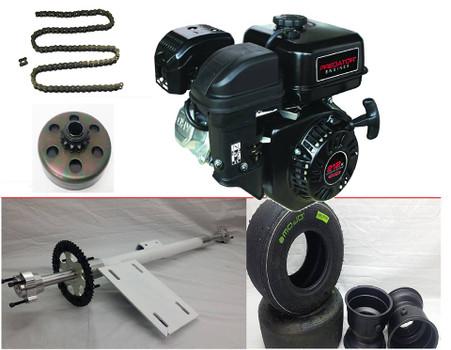 Gas rear axle kit huffy slider Hslider kit