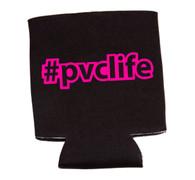 #pvclife koozie - Neon Pink