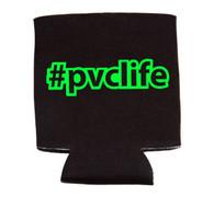 #pvclife koozie - Neon Green