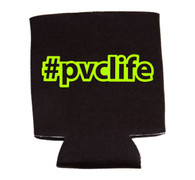 #pvclife koozie - Neon Yellow