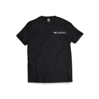 Flatout Wing T-Shirt - Black