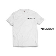 Flatout Wing T-Shirt - White