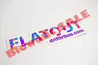 Flatout Sticker (50% Savings!)