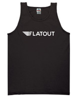 Flatout Wing Tank - Black