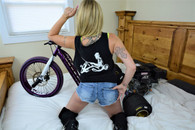 Drift Wing /Drift Rider on back - Tank Top - black
