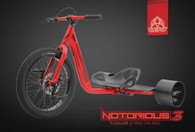 Notorious 3 - Red ON Red (71037) - Front View