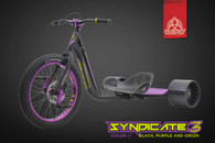 Syndicate 3 - Black / Purple