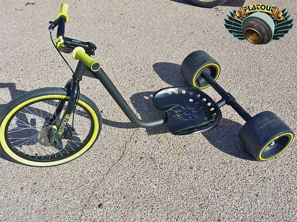 how to make a drift trike out of a bmx