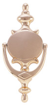 Oval Style Brass Door Knocker