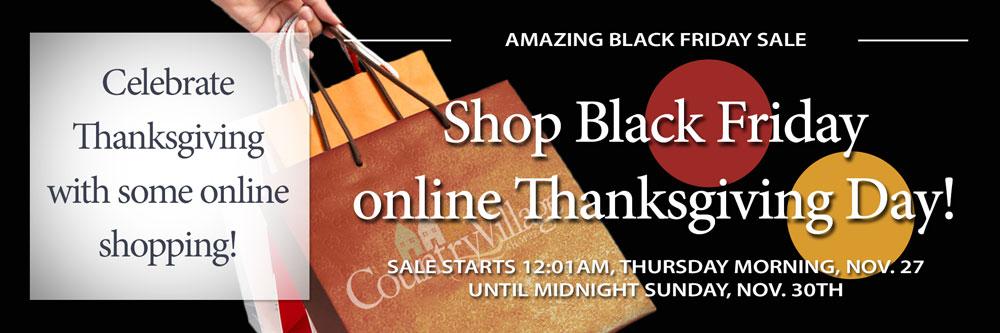 Sale starts 12:01 AM on Thursday!