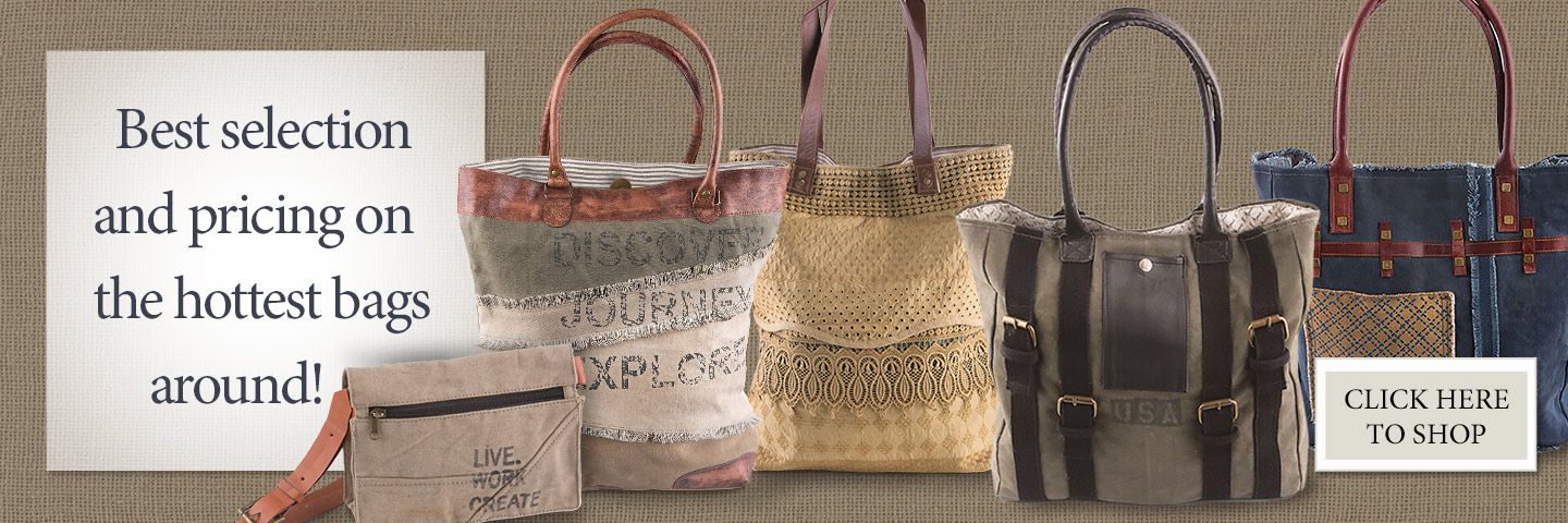 Country Canvas Bags--Our Best Sellers!