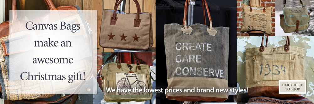 Our Canvas Bags make an awesome Christmas gift!