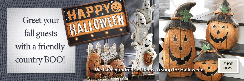 Shop hundreds of seasonal items for Halloween!