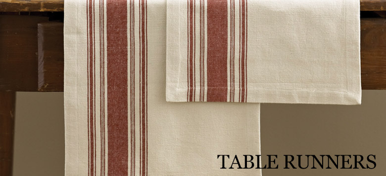 Kitchen - Table Linens - Table Runners - Country Village Shoppe