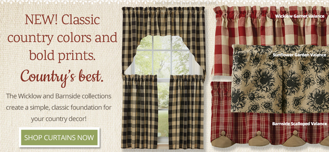 Shop Wickow and Barnside Curtains