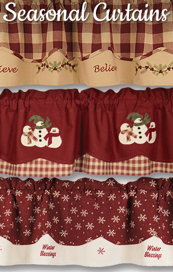Country exclusive winter Valances