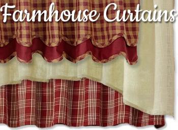 Shop Country Farmhouse Curtains