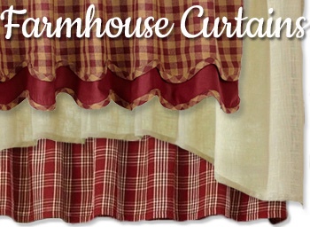 Shop Country Farmhouse Curtains
