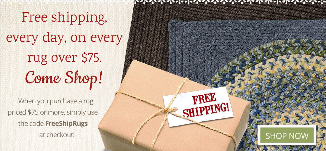 Free Shipping on Rugs over $75