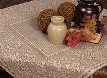 Oak Leaf Table Topper