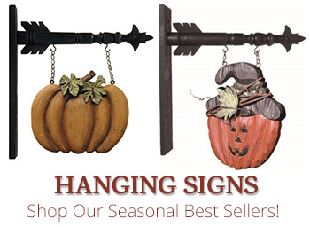 Fall Country Hanging Signs