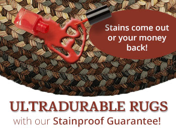 Ultradurable Rugs Guaranteed Stainproof