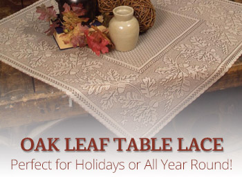 Oak Leaf Table Topper