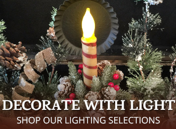Holiday Candle Light Candy Cane Taper