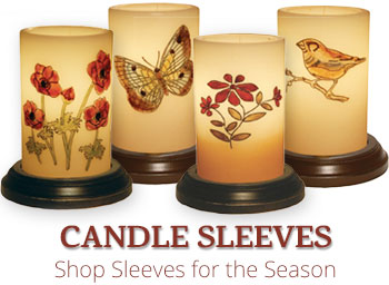 Spring and Everyday Candle Sleeves