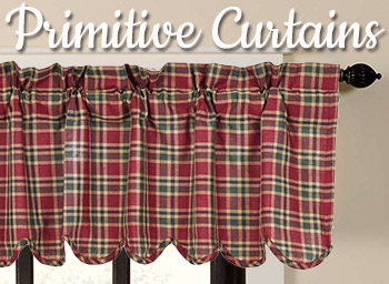 Shop Primitive Curtains