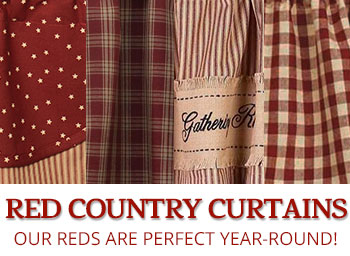 Shop Red Curtains