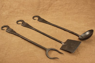 Ponderosa Forge BBQ Tools 3 piece set