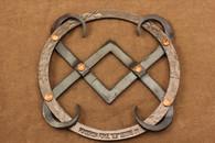 wrought iron 2004 ponderosa forge trivet