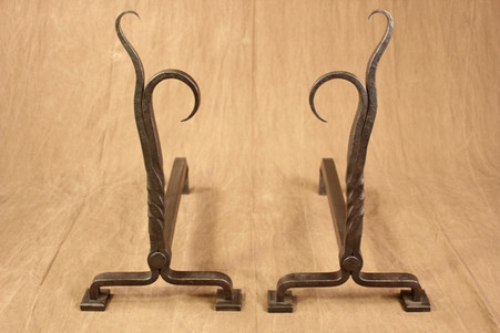 wrought iron flaming tamarack