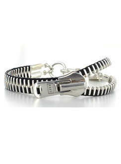 Silver classics Zip-IT bracelet - SOLD OUT!