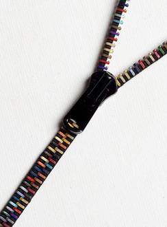 Rio Multicolour Zip-IT Necklace