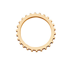 Kogg Ring (Gold Plated)