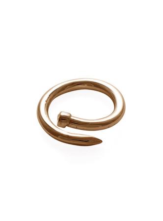 Nail Ring (Gold Plate)