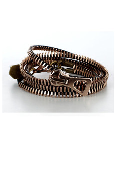 Rose Gold wrap around Zip-IT bracelet