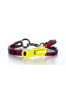 Pop multi-colour Zip-IT bracelet