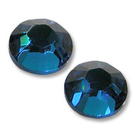 10ss Capri Blue (Royal) Genuine Swarovski HotFix 2028 Xilion Crystals 10 Gross Sealed Package Wholesale