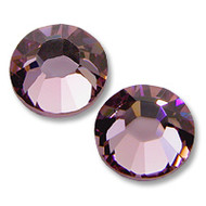 10ss Light Amethyst Genuine Swarovski HotFix 2028 Xilion Crystals 10 Gross Sealed Package Wholesale
