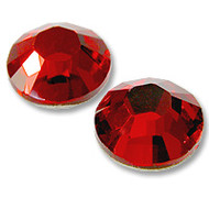 10ss Light Siam (Red) Genuine Swarovski HotFix 2028 Xilion Crystals 10 Gross Sealed Package Wholesale