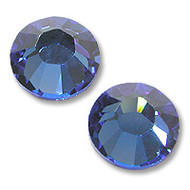 10ss Sapphire Genuine Swarovski HotFix 2028 Xilion Crystals 10 Gross Sealed Package Wholesale