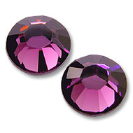 10ss Amethyst 10ss Genuine Swarovski HotFix 2028 Xilion Crystals 10 Gross Sealed Package Wholesale