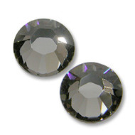 16ss Black Diamond Genuine Swarovski HotFix 2028 Xilion Crystals 10 Gross Sealed Package