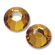 16ss Topaz Genuine Swarovski HotFix 2028 Xilion Crystals 10 Gross Sealed Package Wholesale