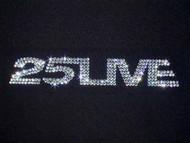 George Michael Concert Tour Swarovski Crystal Rhinestone T Shirt