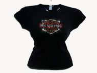 American Legend Swarovski Rhinestone T Shirt