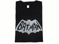 Batman Movie Logo Rhinestone T Shirt